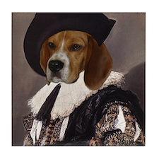 Beagle CAVALIER Tile Coaster