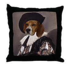 Beagle CAVALIER Throw Pillow