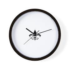 Unique Fleur de Wall Clock