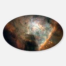 Orion Nebula Oval Decal