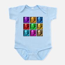 Shakespeare Pop Art Infant Bodysuit