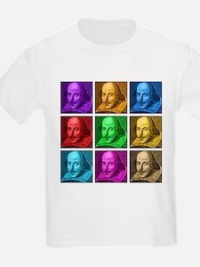Shakespeare Pop Art T-Shirt