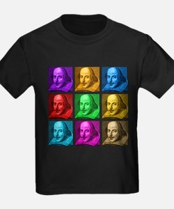 Shakespeare Pop Art T