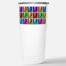 Shakespeare Pop Art Travel Mug