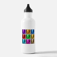 Shakespeare Pop Art Water Bottle