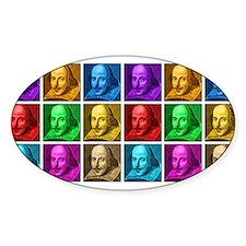 Shakespeare Pop Art Decal
