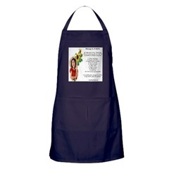 Amy's Message In A Bottle Apron (dark)