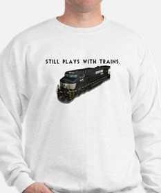 Still Plays With Trains Jumper