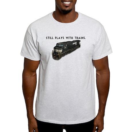 Still Plays With Trains Light T-Shirt