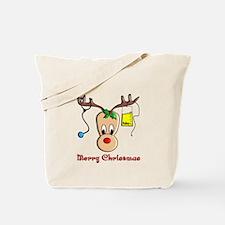 Nurse Christmas Tote Bag
