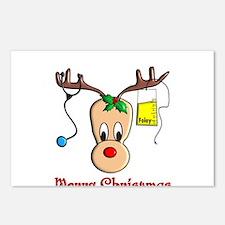 Nurse Christmas Postcards (Package of 8)