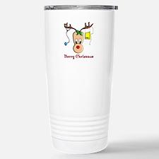 Nurse Christmas Stainless Steel Travel Mug