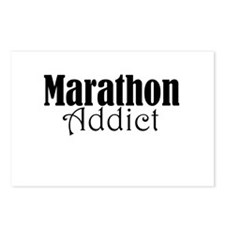 Marathon Addict Postcards (Package of 8)