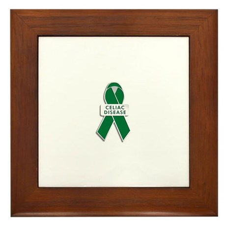 Celiac Disease Awareness Framed Tile