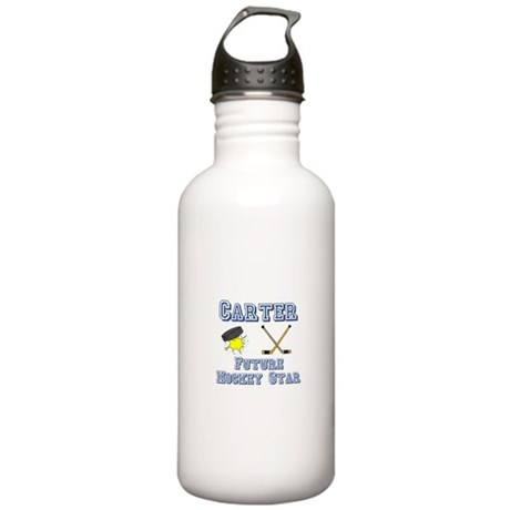 Carter - Future Hockey Star Stainless Water Bottle
