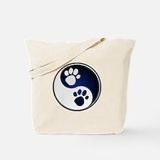 Paw Ying Yang Tote Bag