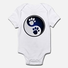 Paw Ying Yang Infant Bodysuit