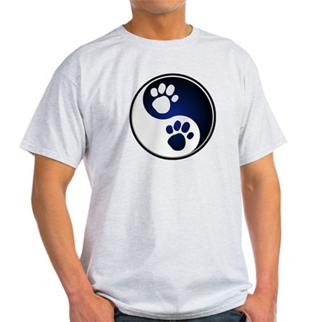 Paw Ying Yang Light T-Shirt