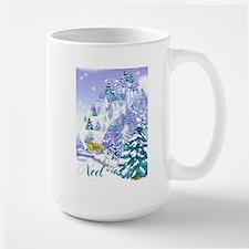 Goat Winter Noel Mug