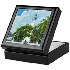 Key West Lighthouse Keepsake Box