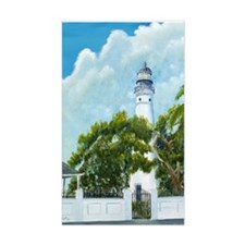 Key West Lighthouse Rectangle Decal