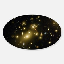 Galaxy Cluster Oval Decal
