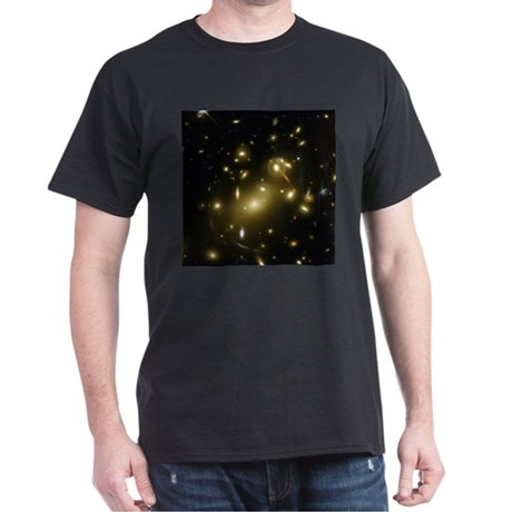 Galaxy Cluster Black T-Shirt