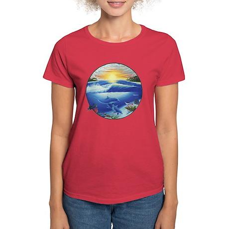 Dolphin Women's Dark T-Shirt