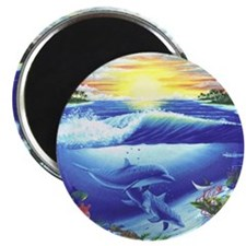 "Dolphin 2.25"" Magnet (100 pack)"