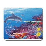 Ocean life Mouse Pads