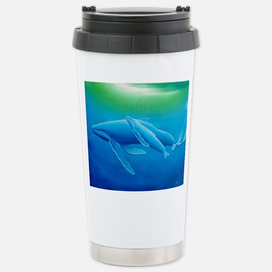 Whale Stainless Steel Travel Mug
