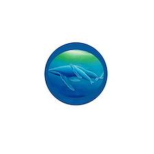 Whale Mini Button (10 pack)