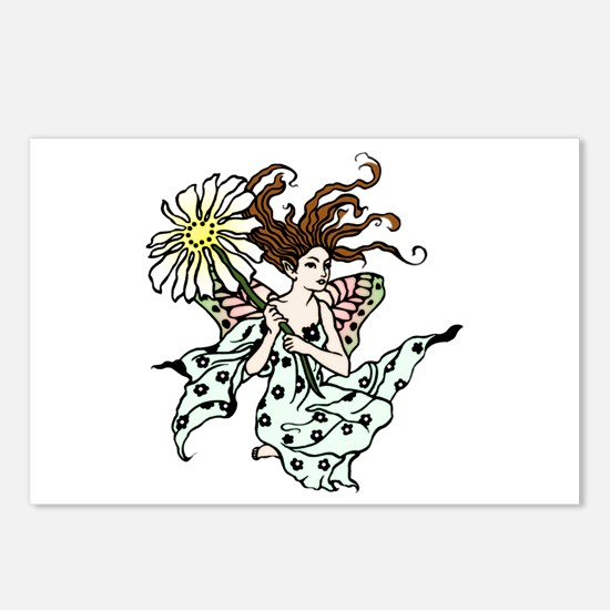 Cute Windswept Postcards (Package of 8)