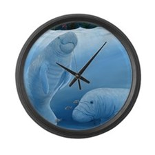 Unique Painting Large Wall Clock