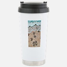 Turtle Hatchlings Travel Mug