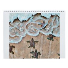 Turtle Hatchlings Wall Calendar