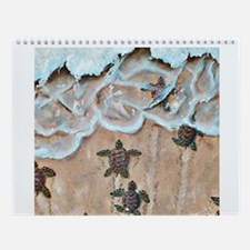 Turtle Hatchlings Wall Calendar