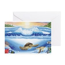 Turtle Haven Greeting Cards (Pk of 10)