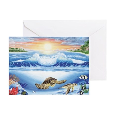 Turtle Haven Greeting Card