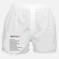 Funny Rowing coxswain Boxer Shorts