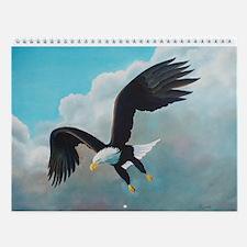 Eagle Wall Calendar