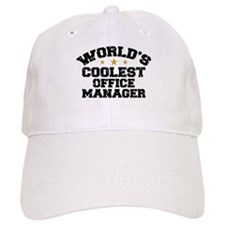 Coolest Office Manager Baseball Baseball Cap