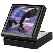 Freedom Eagle Keepsake Box