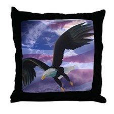 Freedom Eagle Throw Pillow