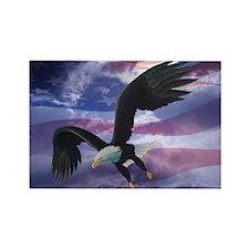 Freedom Eagle Rectangle Magnet