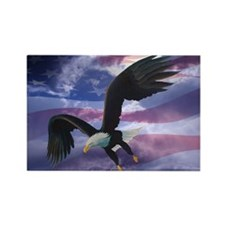 Freedom Eagle Rectangle Magnet (10 pack)