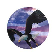 """Freedom Eagle 3.5"""" Button"""