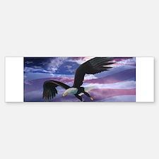 Freedom Eagle Bumper Bumper Sticker