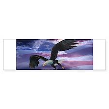 Freedom Eagle Bumper Sticker