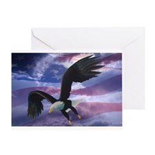 Freedom Eagle Greeting Card